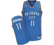 NBA Detlef Schrempf Swingman Men's Royal Blue Jersey - Adidas Oklahoma City Thunder &11 Road