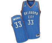 NBA Mitch McGary Swingman Men's Royal Blue Jersey - Adidas Oklahoma City Thunder &33 Road