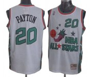 NBA Gary Payton Authentic Throwback Men's White Jersey - Mitchell and Ness Oklahoma City Thunder &20 1996 All Star
