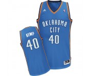 NBA Shawn Kemp Swingman Men's Royal Blue Jersey - Adidas Oklahoma City Thunder &40 Road