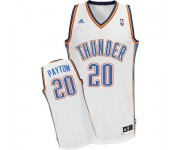 NBA Gary Payton Swingman Men's White Jersey - Adidas Oklahoma City Thunder &20 Home