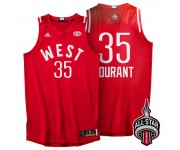 Toronto Conférence All-Star de l'Ouest 35 Kevin Durant le 2016 maillot rouge