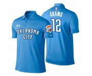 Polo Oklahoma City Thunder ^ 12 Steven Adams Icon Edition Blue Player Performance pour homme