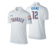 Polo Thunder Okhnahoma City Thunder ^ 12 de Steven Adams Association, joueur blanc