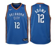 Thunder d'Oklahoma City pour la jeunesse ^ 12 Steven Adams Swingman Blue Jersey-Icon Edition