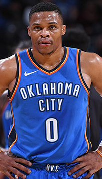 Russell Westbrook Maillot